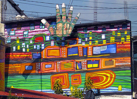 Kurt Van Wagner - Guatemala Street Art 1