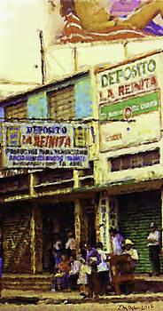 Guatemalan Street Billboard by Elizabeth Iglesias