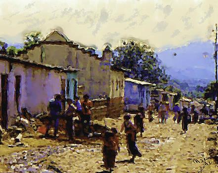 Guatemalan Street Life by Elizabeth Iglesias