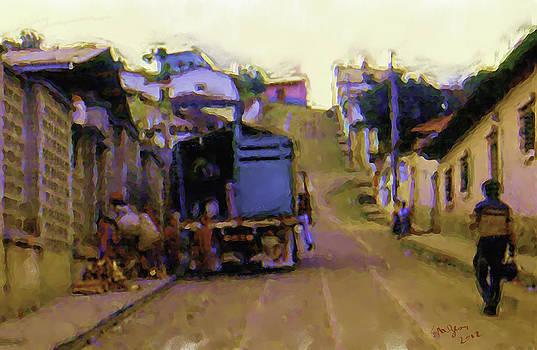 Guatemalan Street Truck by Elizabeth Iglesias