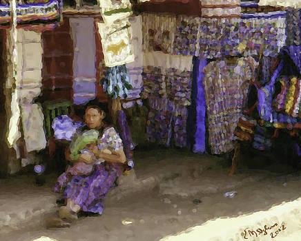 Guatemalan Woman With Baby by Elizabeth Iglesias