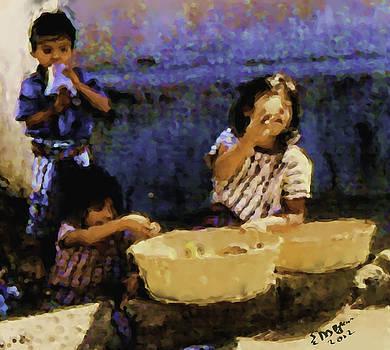 Guatemalan Children by Elizabeth Iglesias