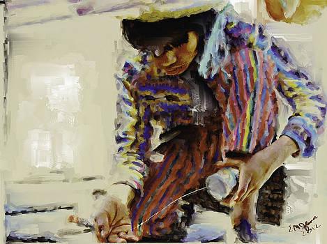Guatemalan Fisher Boy by Elizabeth Iglesias