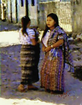 Guatemalan Girls by Elizabeth Iglesias