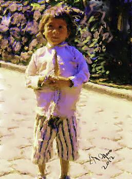 Guatemalan Little Boy by Elizabeth Iglesias