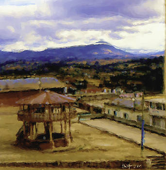 Guatemalan Roof Top Four by Elizabeth Iglesias