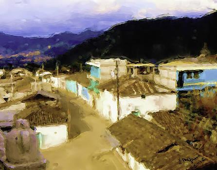 Guatemalan Roof Top by Elizabeth Iglesias