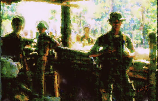 Guatemalan Soldiers Signed by Elizabeth Iglesias
