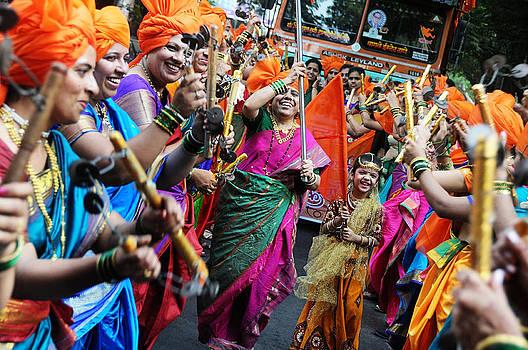 Gudi Padwa Procession by Money Sharma