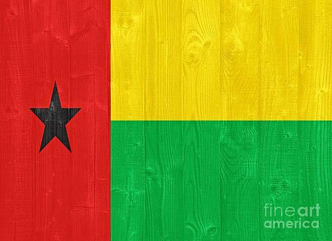 Guinea Bissau flag by Luis Alvarenga