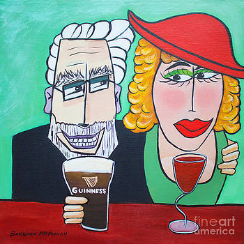 Barbara McMahon - Guinness Man With The Woman Of His Dreams