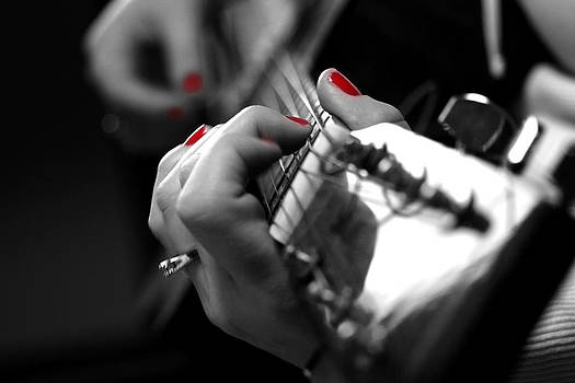 Guitar Chick by Bryan Ranker