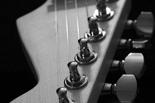 Mike Murdock - Black and White Guitar