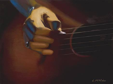 Guitar Player by Loretta McNair