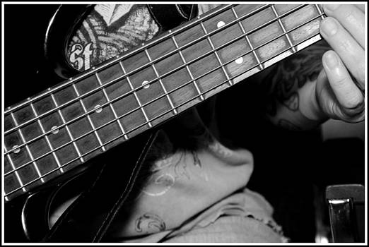 Guitar Player  by Paul  Simpson