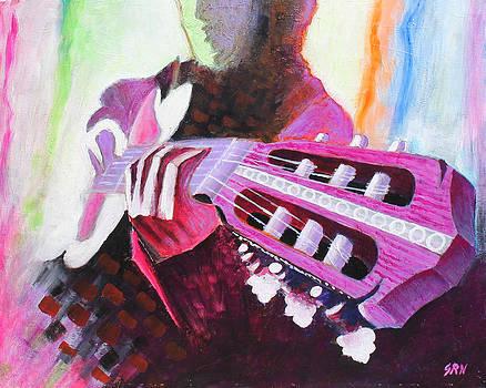 Guitar Player by Sanjeev Nandan