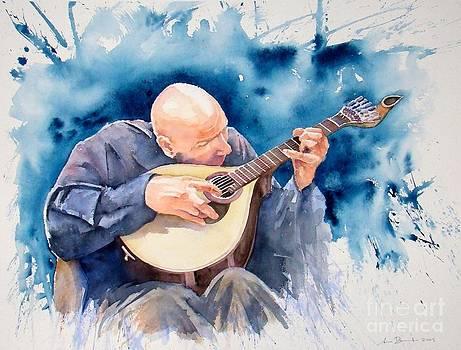 Guitarrista by Antonio Bartolo