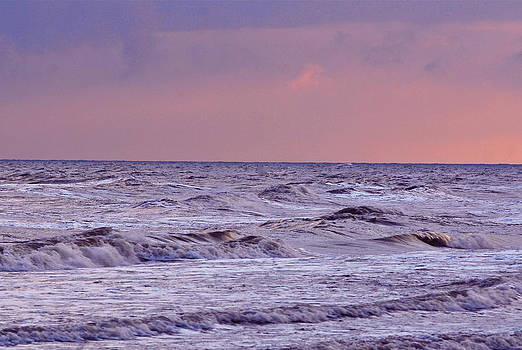 Gulf Afterglow by Larry Bodinson