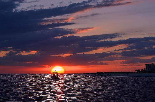 Gulf Coast Sunset by Laura Fasulo