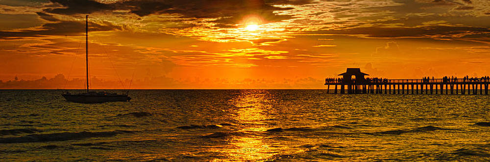 Gulf Coast Sunset by Mike Berry