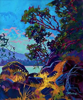 Gulf Island Shoreline by Brian Buckrell