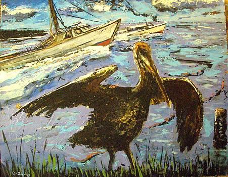 Gulf Turmoil by James  Lalepop Becker