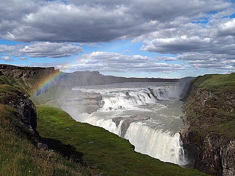 Gullfoss waterfall by David Otter