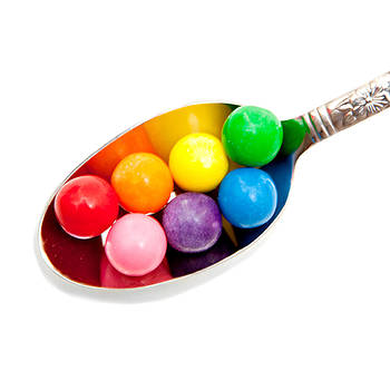 Art Block Collections - Gumballs on a Spoon