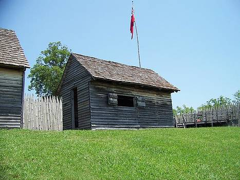 Gun powder at Fort Loudon by Regina McLeroy