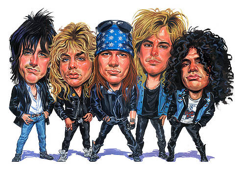Guns N' Roses by Art