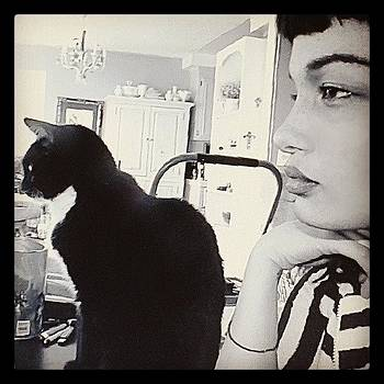 Gunther, Fo-eva #tuxedocat #ilovemycat by Melissa Eve