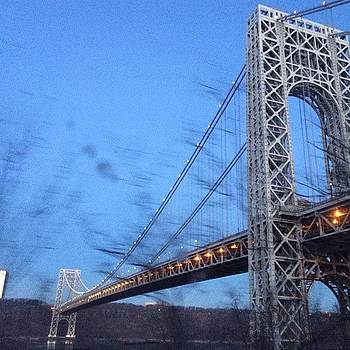 #gwb #bridge #ny #nyc #nj #tinyshutter by Roger Pereira