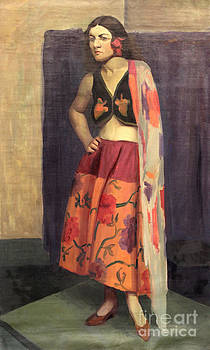 Art By Tolpo Collection - Gypsy with Shawl  1930