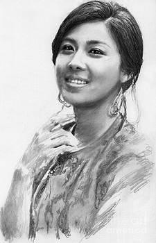 Ha Ji Won by Carliss Mora