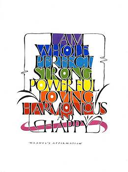Haanel Affirmation by Sally Penley