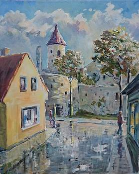 Haapsalu in the rain and the sun by Ylo Telgmaa