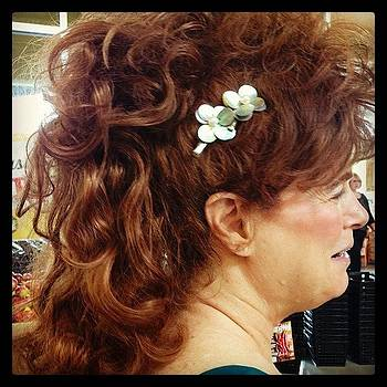 Had To Photograph This Hairdo Today by Tricia ONeill