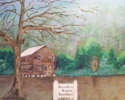 Hadnot Creek Church by Linda Bright Toth