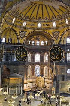 Hagia Sophia Scene Five by Cliff C Morris Jr