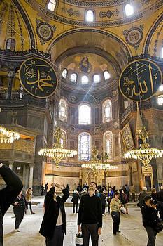 Hagia Sophia Scene Nine by Cliff C Morris Jr