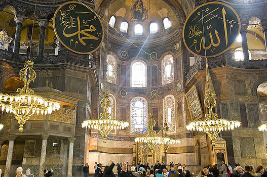 Hagia Sophia Scene One by Cliff C Morris Jr