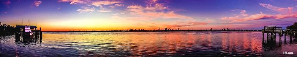 Hagley Landing Sunset by Ed Roberts