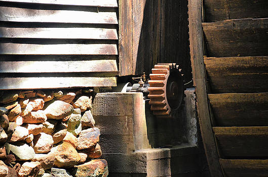 Hagood Mill Gears by Thomas Taylor