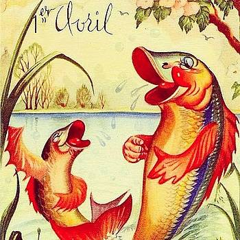 Haha! Les Poissons D'avril! by Chelsea Daus