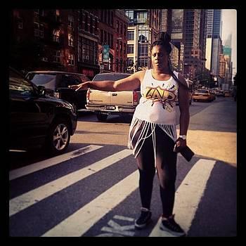 Hail-alujah #cab #nyc #ghettofab #weave by Joshua Plant