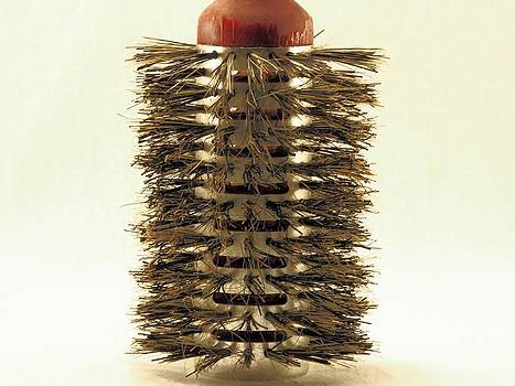 Hair Brush Close-Up by Bobby Miranda