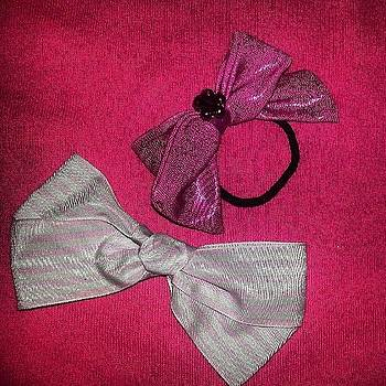 #hairbows #bows #bow #ribbon by Amy Marie La Faille