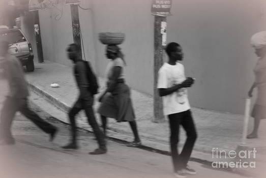 Haiti on the street by Tracey Hampton