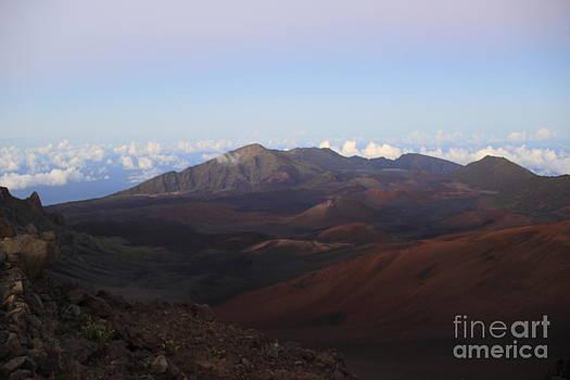 Haleakala at Sunset by Jeff Sommerfield