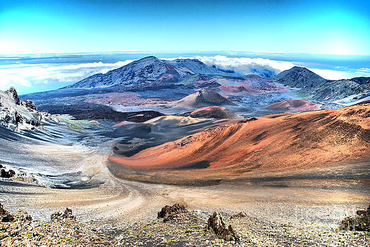 Haleakala crater HDR 4 by John Kenolio
